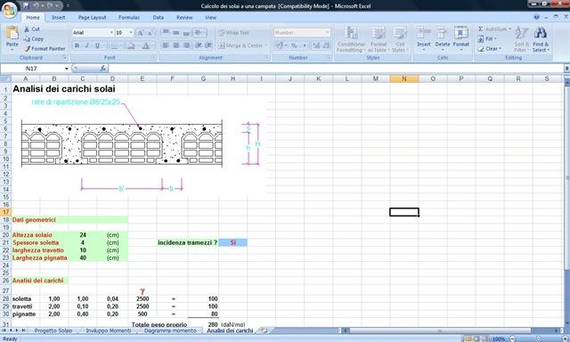 Software di calcolo per i solai gratis